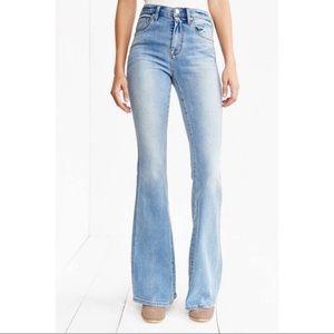 BDG High Rise Flare Bell Bottom Slim Stretch Jeans